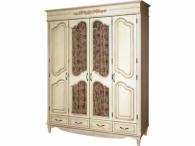 Шкаф для платья и белья (4х дверный) «Фиерта 2»