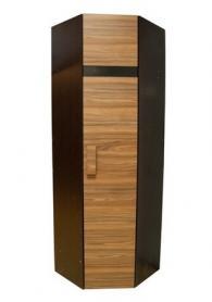 Шкаф угловой 2 палисандр (правый)