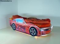 Кровать Мустанг Премиум Красная