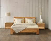 Кровать Лоредо 180*200 (б/к,б/м) массив дуба