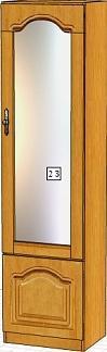 Вилия-М Шкаф 2 З / (2 ГЗ) / (2 ГЗ - 01)