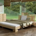 Спальня из массива бука (Clare - Lodi)
