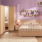 Спальня «Милана» Комплектация 2
