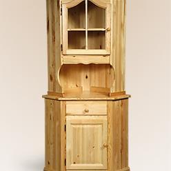 """Шкаф для посуды из массива дерева """"Лотос""""  (Борисов)"""