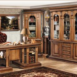 """Набор мебели для кабинета """"Верона"""" (дуб) (Минскпроектмебель)"""