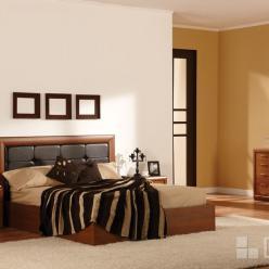 """Спальня """"Альба"""" - 04  (кровать с подъемным механизмом)  (Дана)"""