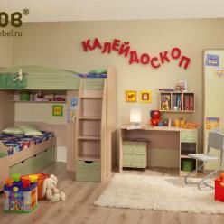 """Детская """"Калейдоскоп"""" (Комплектация №2) (Глазов-мебель)"""