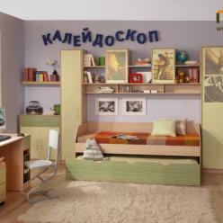 """Детская """"Калейдоскоп"""" (Комплектация №4) (Глазов-мебель)"""