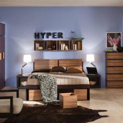 """Спальня """"Hyper"""" Комплектация 1 (Глазов-мебель)"""