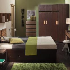 """Спальня """"Hyper"""" Комплектация 2 (Глазов-мебель)"""