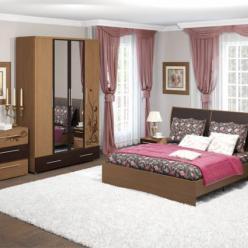 "Спальня ""Марианна"" (вяз ненси) (Ижмебель)"