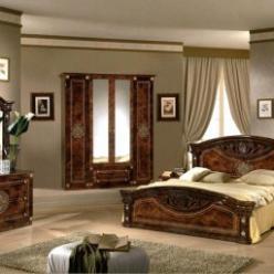 Спальня Рома с 4-х дверным шкафом (Диа)