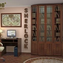 Библиотека «Sherlock» (Шерлок) - 2 (Глазов-мебель)