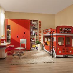 Детская мебель «Автобус»  (Глазов-мебель)
