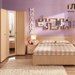 Спальня «Милана» Комплектация 2 (Глазов-мебель)