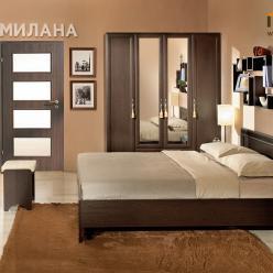 Спальня «Милана» (Венге) (Глазов-мебель)