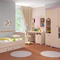Детская комната «Pink» (Пинк) (Интеди)