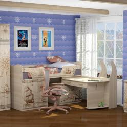Детская комната «Квест» Компоновка 2 (Ижмебель)