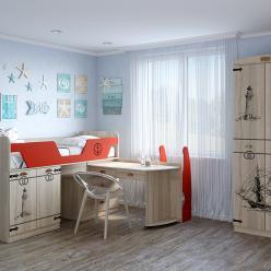 Детская комната «Корсика». Компоновка 1 (Кентавр 2000)