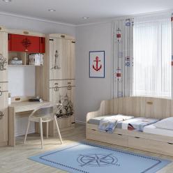 Детская комната «Корсика». Компоновка 2 (Кентавр 2000)