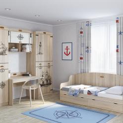 Детская комната «Корсика». Компоновка 3 (Кентавр 2000)