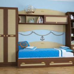 Детская комната Юниор Комплектация 1 (Кентавр 2000)