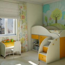 Детская комната Маугли (Компасс)
