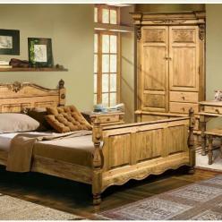 """Набор мебели для спальни """"Викинг-GL"""" (Лидская)"""