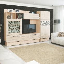 Гостиная Адель (вариант 2) (МСТ Мебель)