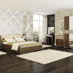 Спальня «Оливия». Комплектация 1 (МСТ Мебель)