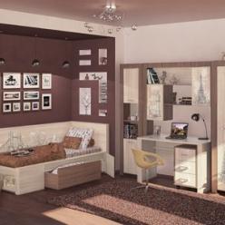 Мебель для детской комнаты «Город»  (МСТ Мебель)
