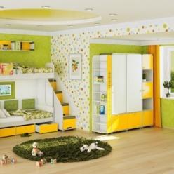 Детская комната «Умка». Комплектация 1 (МСТ Мебель)