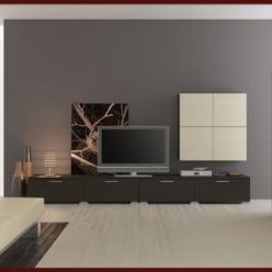 Модульная гостиная Киото (НИК Мебель)