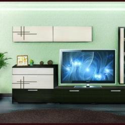 Модульная гостиная Киото-1 (арт. К-01) (НИК Мебель)