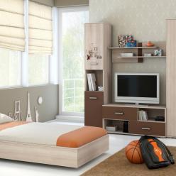 Детская комната «Лимбо-1». Вариант компоновки 2 (Омскмебель )