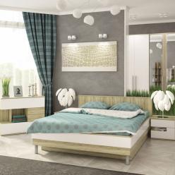 Спальня Ирма (Белый глянец) (Столлайн)