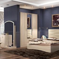 Спальня Джустин, Дуб сонома (УфаМебель)