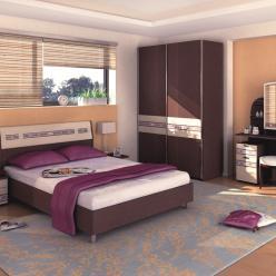 Спальный гарнитур Ривьера 4 (Витра)
