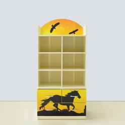 Детская мебель Мустанг желтая (ВиВера мебель)