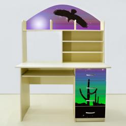 Детская мебель Мустанг сиреневая (ВиВера мебель)
