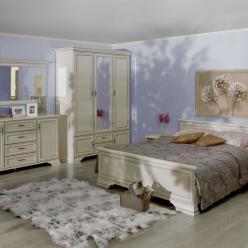 Спальня Кентаки (Kentaki) белый (БРВ (BRW))