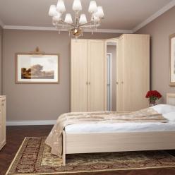 Спальня «Милана» Комплектация 1 (Глазов-мебель)