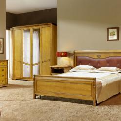 Спальня Лика (медовый дуб с золотой патиной) (Молодечномебель)