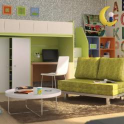 Детская мебель Пиноккио Лайм К10 (ОГОГО Обстановочка!)