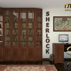 Библиотека «Sherlock» (Шерлок) - 3 (Глазов-мебель)