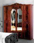 Шкаф 4-х дверный для спальни Ольга