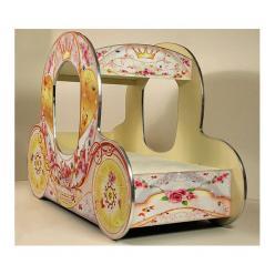 """Детская кровать """"Золушка"""" (ВиВера мебель)"""