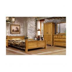 Спальный гарнитур Марсель (массив дуба) (Вилейская мебельная фабрика)