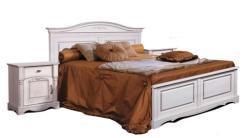 """Кровать двуспальная с гибким основанием в комплекте БМ-2172 """"Паола"""" (БобруйскМебель)"""