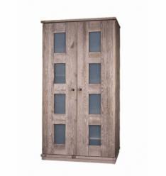 """Шкаф для одежды 2-х дверный БМ-2122 """"Доминика"""" (БобруйскМебель)"""